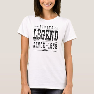 Living Legend Since 1959 T-Shirt