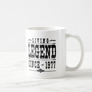 Living Legend Since 1977 Coffee Mug