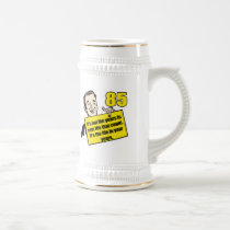 Living Life 85th Birthday Gifts Beer Stein