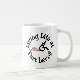 Living Life at Fart Level! Coffee Mug