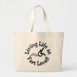 Living Life at Fart Level! Tote Bag