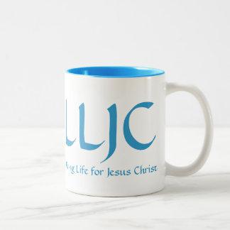 Living Life for Jesus Christ - Mug Lt Bl