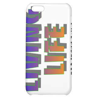Living life for Jesus only Christian saying iPhone 5C Covers
