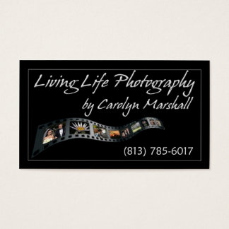 Living Life Photography Business Card