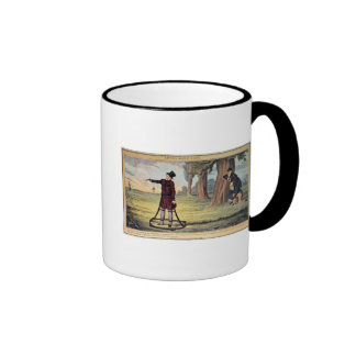 Living Made Easy; duelling apparatus Ringer Mug