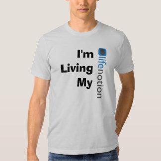 Living My LifeNotion T Shirt