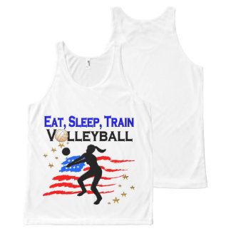 LIVING MY VOLLEYBALL DREAM DESIGN All-Over-Print TANK TOP
