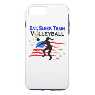 LIVING MY VOLLEYBALL DREAM DESIGN iPhone 8 PLUS/7 PLUS CASE