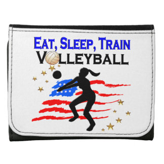 LIVING MY VOLLEYBALL DREAM DESIGN WALLETS