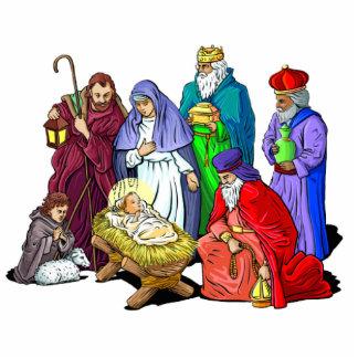 Living Nativity Sculpture
