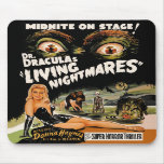 Living Nightmares Mousepad del Dr. Drácula Alfombrillas De Raton