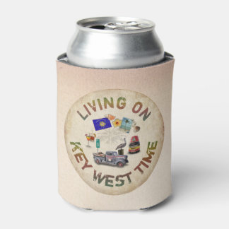 Living on Key West Time Can Cooler