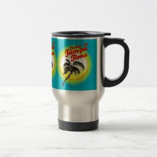 Living On Tampa Time Mug. Travel Mug