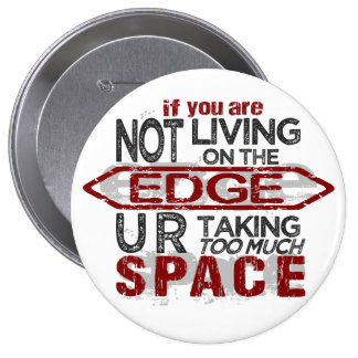 Living On The Edge button