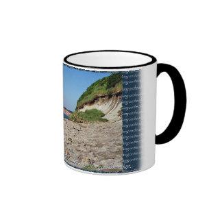 living on the edge... coffee mug