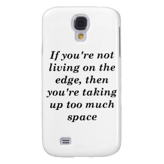 Living on the Edge Galaxy S4 Cover