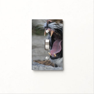 Living on the edge - Roaring Tiger Light Switch Cover