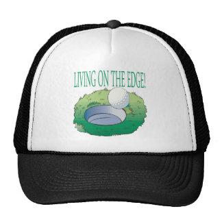 Living On The Edge Trucker Hat
