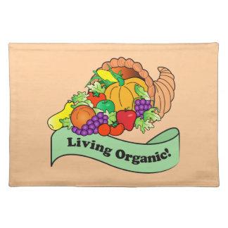 Living Organic Cornucopia Plate Placemat