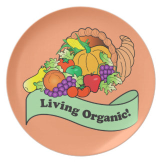Living Organic Party Plates