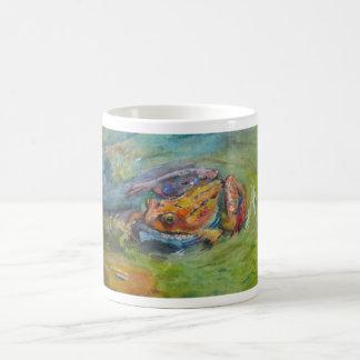 Living Rainbow Frog Mug