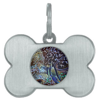 Living Reef and Fish Pet Tag