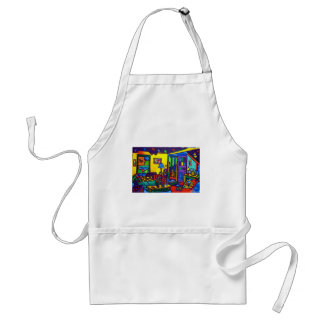 Living Room # 1 by Piliero Adult Apron
