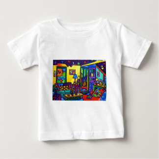 Living Room # 1 by Piliero Baby T-Shirt