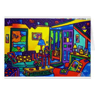 Living Room # 1 by Piliero Card