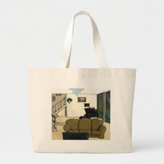 Living Room Large Tote Bag