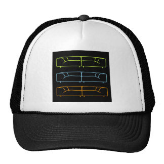 Living room modern sofa in different colors trucker hat