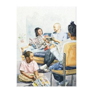 Living Room Serenades 2003 Canvas Print