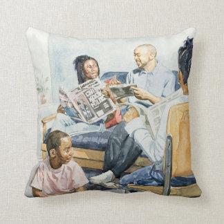 Living Room Serenades 2003 Throw Pillow