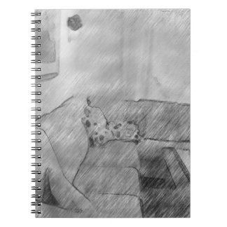 Living room spiral note book