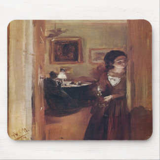 Living-Room with the Artist's Sister mousepad