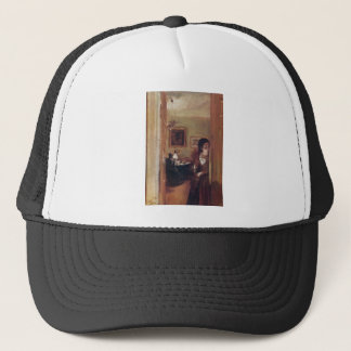 Living Room with the Artist's Sister Trucker Hat