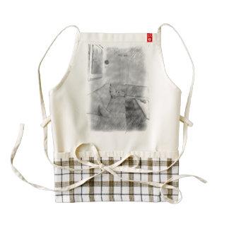 Living room zazzle HEART apron