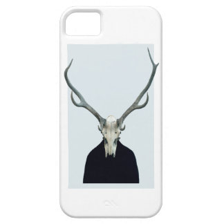 Living Skull and Horns iPhone SE/5/5s Case