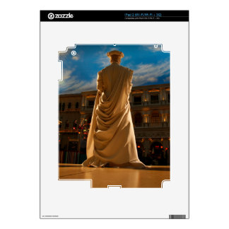 Living Statue Decals For iPad 2
