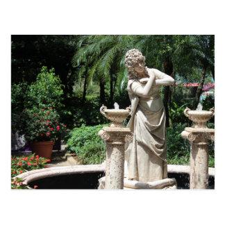 Living Statue Postcard