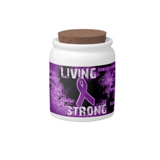 Living Strong Products Line Candy Jars