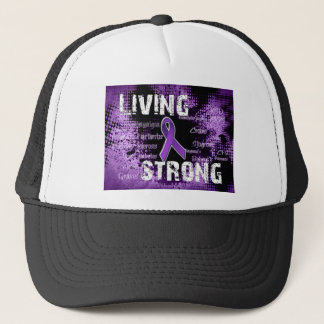 Living Strong Products Line Trucker Hat