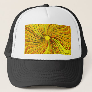 Living Sunburst by Frank Lee Hawkins Trucker Hat