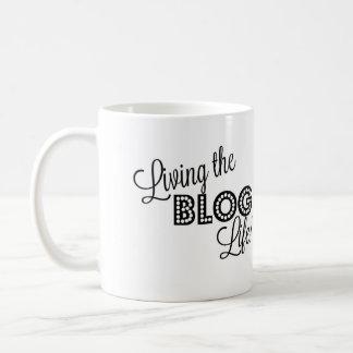 Living the Blog Life Coffee Mug