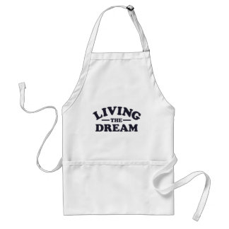 Living the Dream Adult Apron