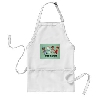 Living the Dream! Adult Apron