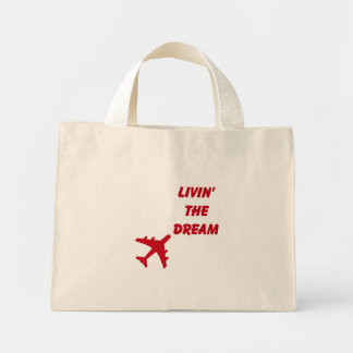 Living The Dream FLORAL Tote Bag