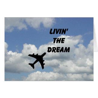 Living The Dream Horizontal Card