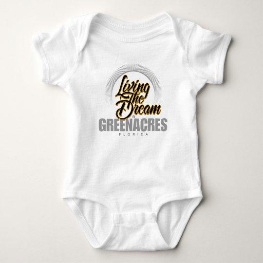 Living the Dream in Greenacres Baby Bodysuit