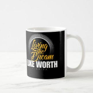 Living the Dream in Lake Worth Coffee Mug